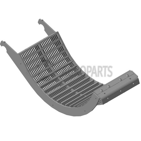 Concave, Middle/Rear. OEM 430962A1