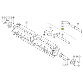 Wear plate for Claas combine harvester. OEM 7776380 , CL-777-638R, Claas combine parts