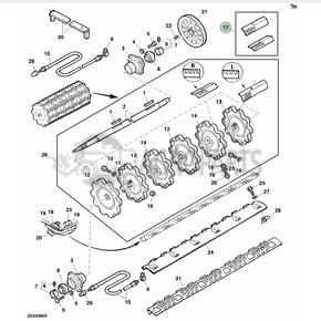 Rasp bar set. OEM V12068