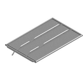 7360612 - lower sieve standard 10 mm fits Claas Lexion