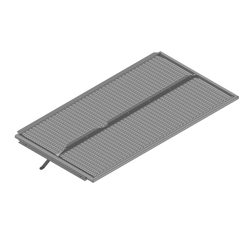 Lower sieve PW3 (10 mm, standard, 2 rows). OEM 7361832
