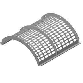 Concave, separating grate 40x20. OEM 7528110