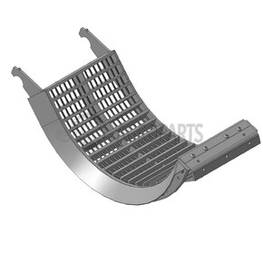 Rotor concave Corn with heat treatment. OEM 430964A1