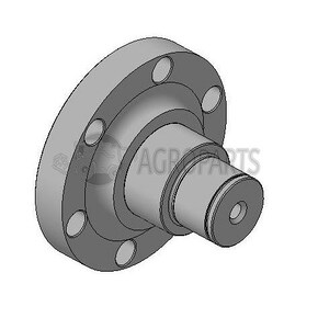 (KIT) Axel repair part for PW Group rollers. OEM 0000010
