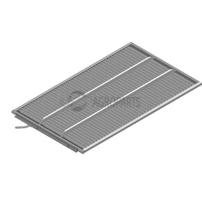 Lower sieve PW3 (10 mm, standard). OEM 6001174