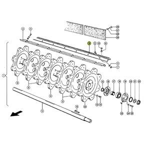 Rasp Bar / Beater Bar Set (RH+RH). OEM 1747640