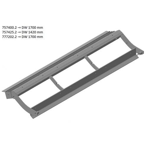 Pre-concave frame. OEM 7574252