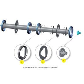 Repair disk for roller. OEM 0000030