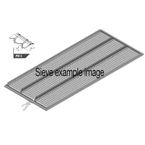 Upper sieve PW4 (25×28 mm, special) for Claas combine harvester. OEM  7360582