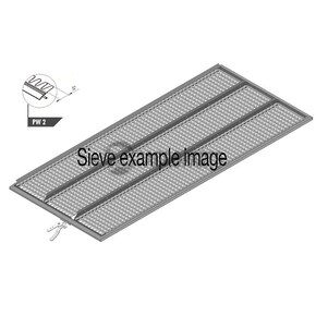 Upper sieve PW2 (32 mm, standard), OEM 7395423 - Lexion 405, CL-739-542R, Claas