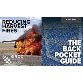 Reducing harvest fires - the back pocket guide