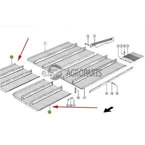 Step plate extention (Intermediate floor). OEM  7394821
