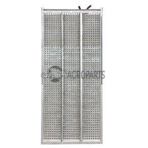 6001190 Upper sieve PW4 (25x28 mm, special, not 3D) fits Claas Dominator, Commandor, Mega