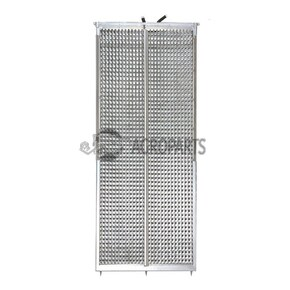 Upper sieve PW4 (25x28 mm, special, not 3D). OEM 647125.0