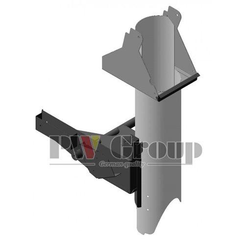 AH229622 Clean grain loading auger tube housing fits John Deere