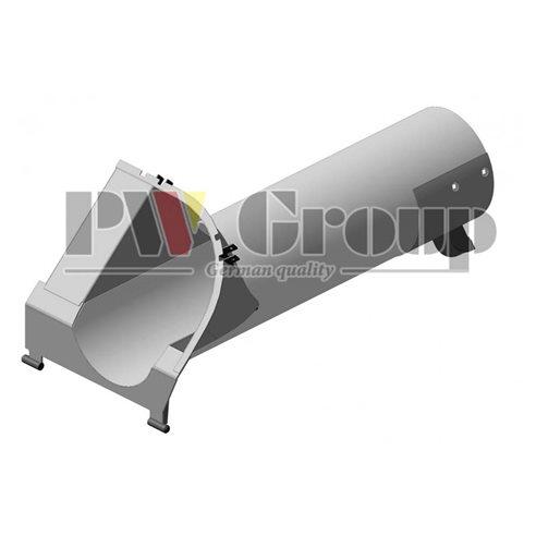 AH219094 Loading auger spout assembly tube fits John Deere