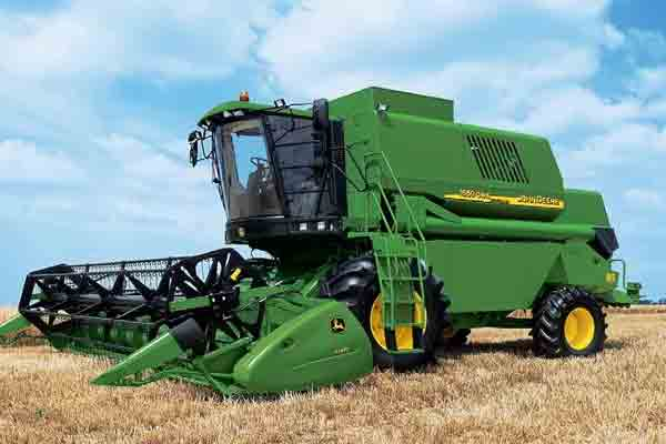 Combine harvester JOHN DEERE 1450 CWS-1550 CWS