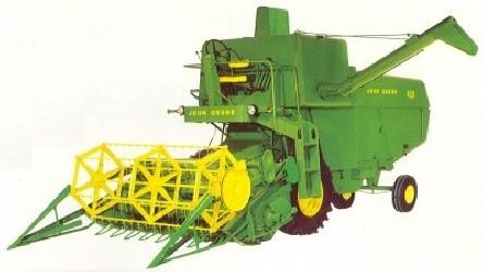 Combine harvester JOHN DEERE MD 330