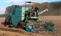 Combine harvester: since invention to nowadays